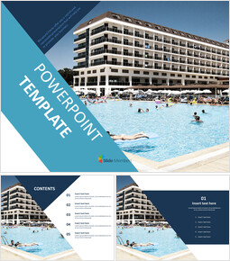 Free PPT Template - Resort Hotel_00