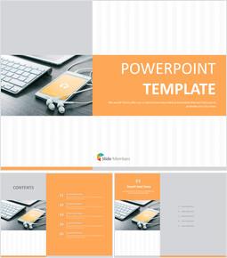 Free Presentation Templates - Mobile Internet_6 slides