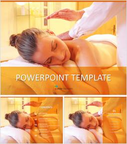 Free Template Design - Fatigue Massage_6 slides