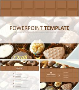 Free Template Design - Soft Chocolate_00