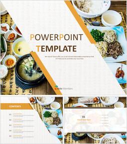 Korean Food Table Setting - Free Powerpoint Sample_6 slides