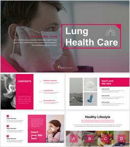 Lung Health Care Google PPT Templates_00