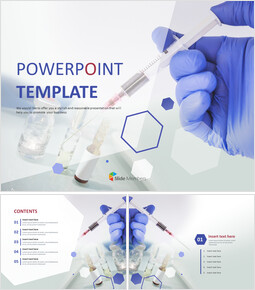 Medical Syringe - Free Design Template_00