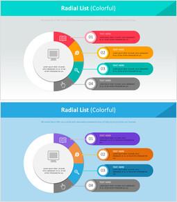 Radial List Diagram (Colorful)_00