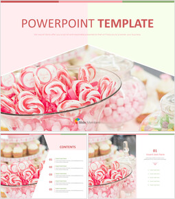 Sweet Candy - Free PPT Sample_00