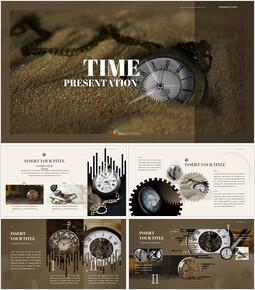 시계 프레젠테이션을 위한 구글슬라이드 템플릿_00