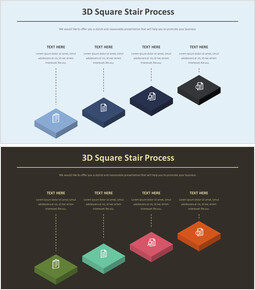 3D 스퀘어 계단 과정 다이어그램_00