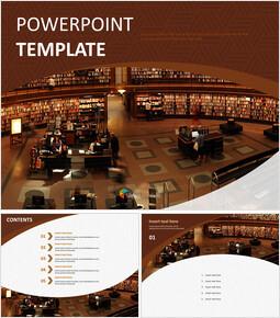 큰 도서관 - 무료 피피티 템플릿_00