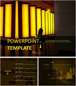 회사 로비 - 무료 PowerPoint 템플릿_00