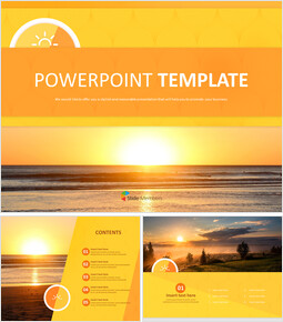 A New-year Sunrise - Free Template Design_00