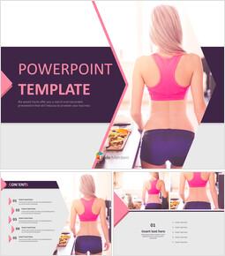 A New Year\'s Resolution-diet - Free Presentation Templates_6 slides