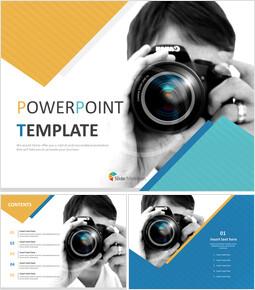 사진 작가 - 무료 PPT 샘플_00