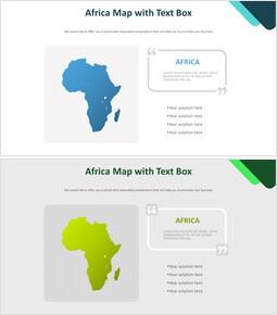 텍스트 상자가있는 아프리카 지도 다이어그램_00