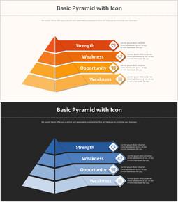 아이콘이있는 기본 피라미드 다이어그램_00