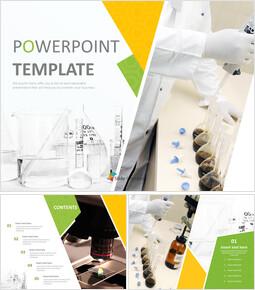 Chemistry - Free PPT Template_6 slides