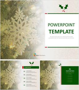 크리스마스 눈송이 - 무료 디자인 템플릿_00