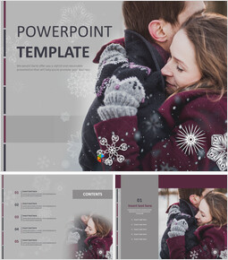 Couple Coats - Free PPT Template_00