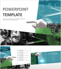development of Science - Free Powerpoint Sample_6 slides