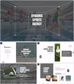 Dynamic Sports Agency Google Slides Templates_00