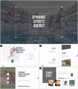 Dynamic Sports Agency PowerPoint Templates for Presentation_00