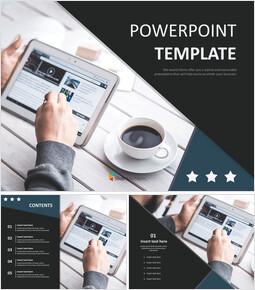 Free Design Template - Smart Tablet_6 slides