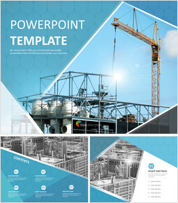 Free Powerpoint Sample - Architecture Construction_00