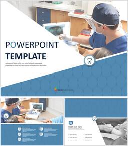 Free PPT Template - Dental Treatment_6 slides