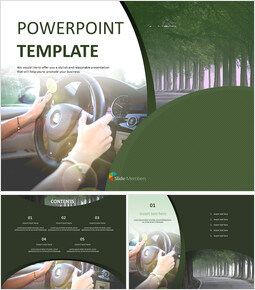 Free PPT Template - Driving_6 slides