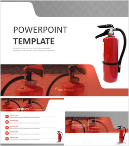 Free PPT Template - Fire Extinguisher_00