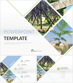 Free PPT Template - rest in the Shade of a Tree_6 slides