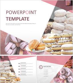 무료 피피티 템플릿 - 달콤한 도넛_00