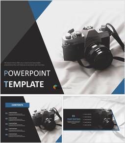 Free Presentation Templates - A Memory of Film Camera_00