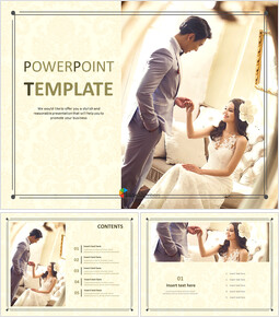 Free Template Design - A Happy Wedding_00
