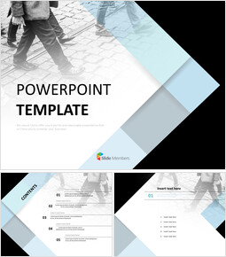 Free Template Design - Busy People_6 slides