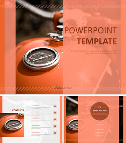 Free Template Design - Motorcycle\'s Engine_00