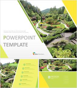 Garden Landscaping - Free Powerpoint Templates Design_6 slides