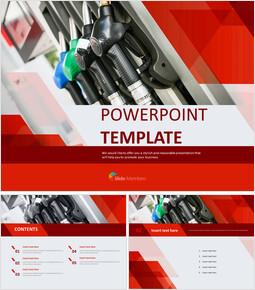 주유소 - 무료 PowerPoint 템플릿_00