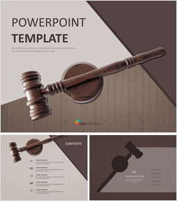 Gavel - Free Presentation Templates_00