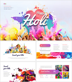 Happy Holi PowerPoint Presentation Templates_00
