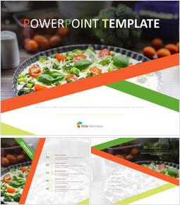 건강 식품 - 무료 PowerPoint 템플릿_00