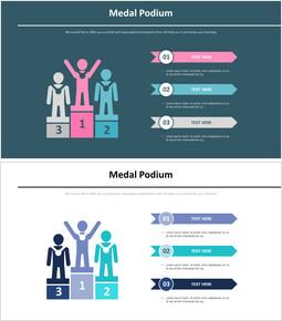 시상대 메달 인포그래픽 다이어그램_00