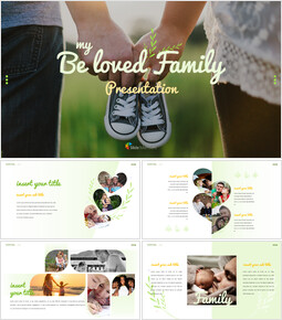 My Beloved Family Google Slides Template Design_00