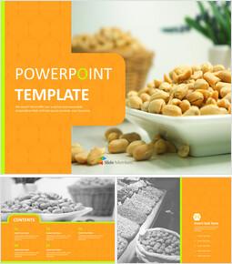 Nutty Peanut - Free Presentation Templates_6 slides