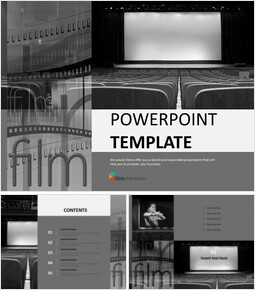 Showing a Movie - Free Design Template_00
