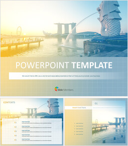 Singapore - Free PPT Template_00