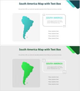 텍스트 상자가있는 남미지도 다이어그램_00