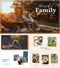 Story of a Family PowerPoint Templates Design_00