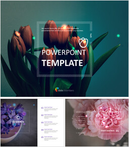Tulip Bouquet - Free Powerpoint Sample_00