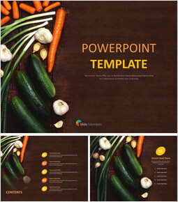 VegeTables on the Table - Free PPT Template_6 slides