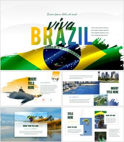 비바 브라질 심플한 Google 슬라이드 템플릿_00